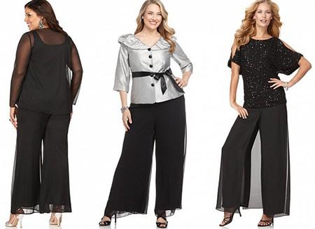 Как выбрать брюки для полных?