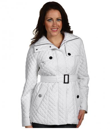 Женские стеганные куртки больших размеров