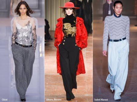 Брюки: модные тренды – 2018