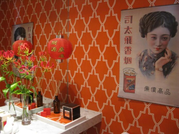 Красные обои: 55 фото и идей для гостиной, кухни, спальни, детской и прихожей