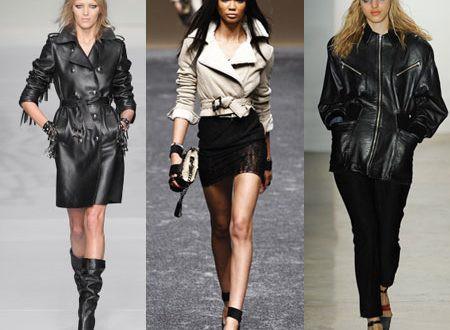 Байкерский стиль для модной девушки