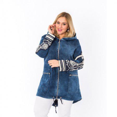 Джинсовые куртки для полных женщин – 2017