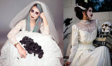 Образ невесты на Хэллоуин
