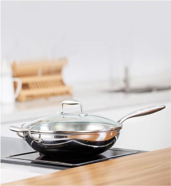 Какая посуда подходит для стеклокерамической и индукционной плиты