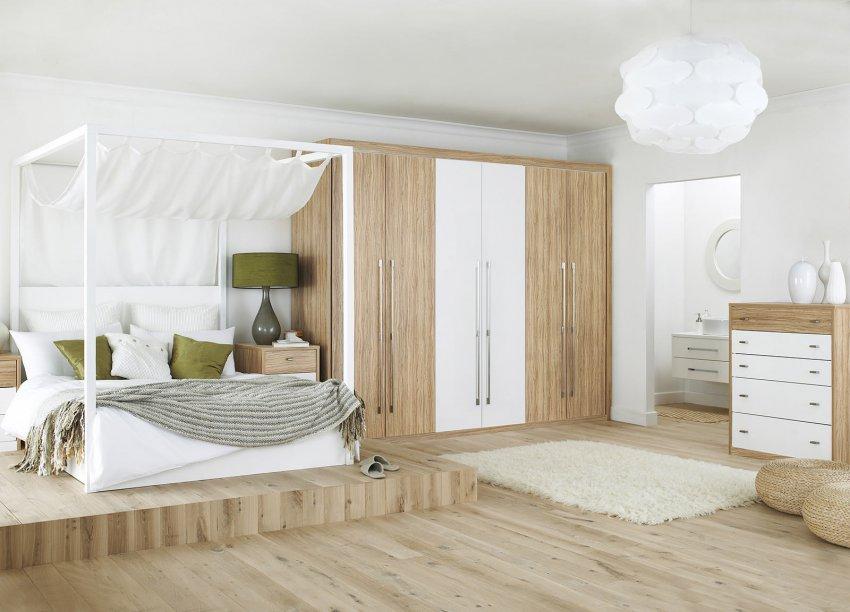 Обустройство спальни: расположение кровати