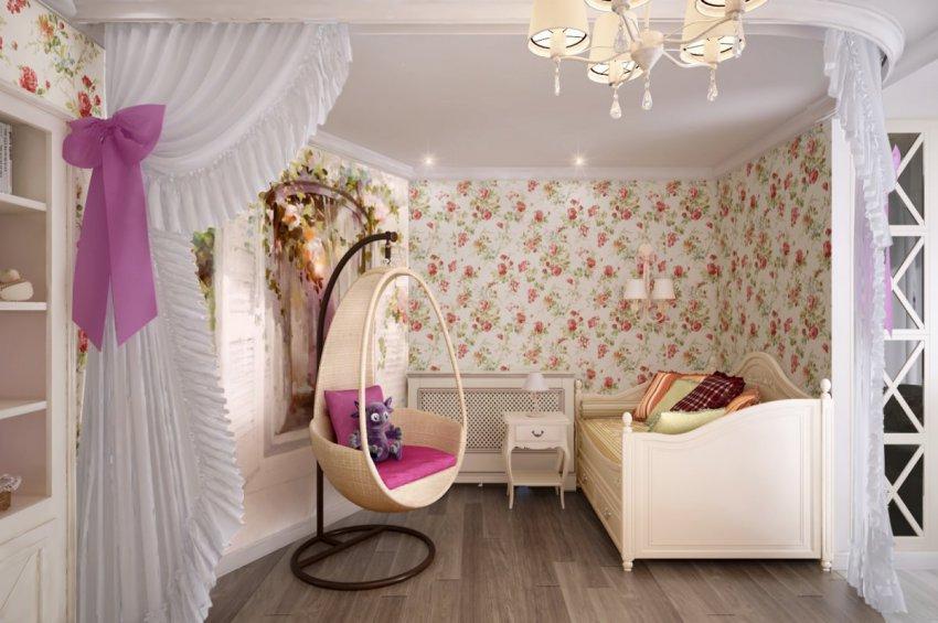 Стили в интерьере: прованс в детской комнате