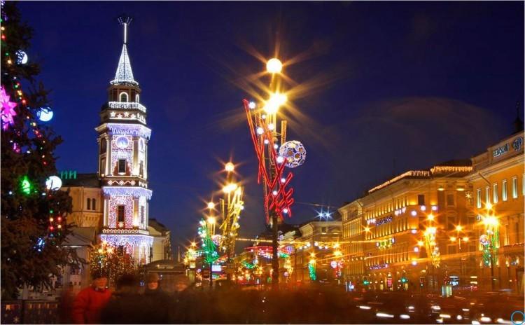 Санкт-Петербург Новый год 2019: как будет ходить транспорт, метро, автобусы, интервал