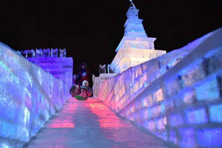 В Парке победы открылся фестиваль «Ледовая Москва»