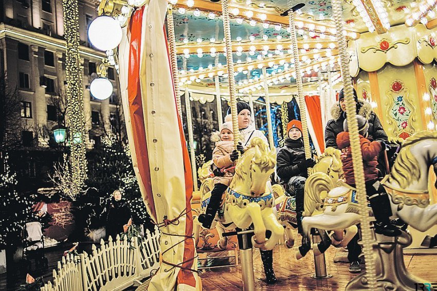 Красная площадь в Москве на Новый год 2019 будет открыта для всех жителей и гостей города