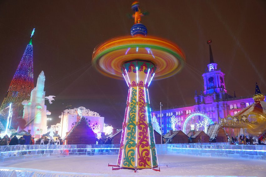 Афиша Новый год в Екатеринбурге 2019: куда можно сходить в Екатеринбурге на Новый год 2019, парки, список мероприятий