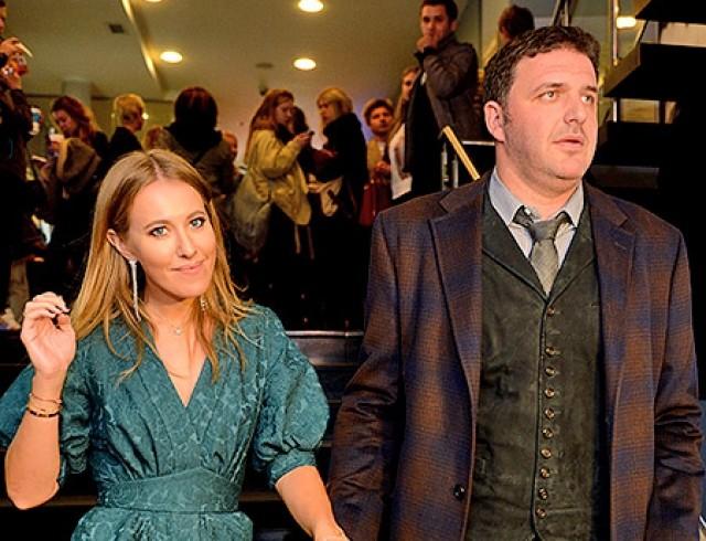 Ксения Собчак и Максим Виторган впервые появились на публике вместе после слухов о разводе