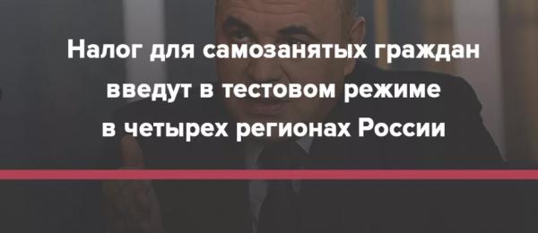 Какие 3 новых налога вводится в России с 1 января 2019 года