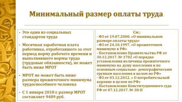 МРОТ в Москве в 2019 году с 1 января — изменения