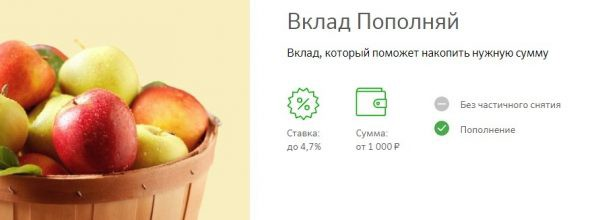 Выгодные вклады Сбербанка России в 2019 году