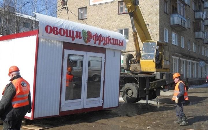 В 2019 году в российские города могут вернуть ларьки и палатки