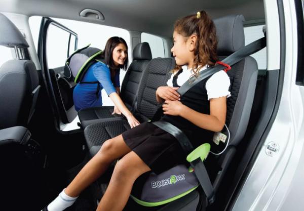 Бустер для детей в машину — правила 2019 года