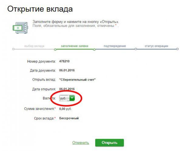 Вклады в Сбербанке для пенсионеров в 2019 году в рублях