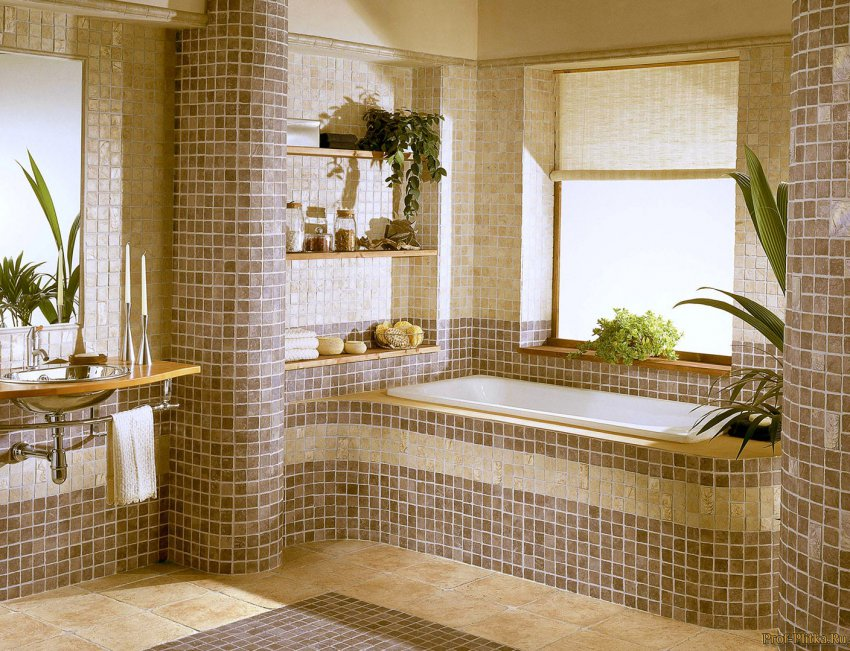 Какую плитку выбрать для ванной комнаты?