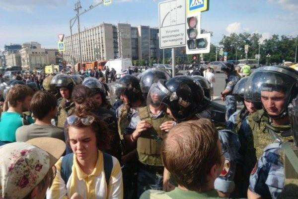 Митинг 3 августа в Москве: сколько задержанных, последние новости сегодня