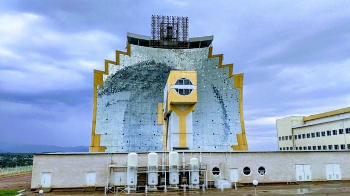 Гелиокомплекс «Солнце» - зеркальная печь СССР