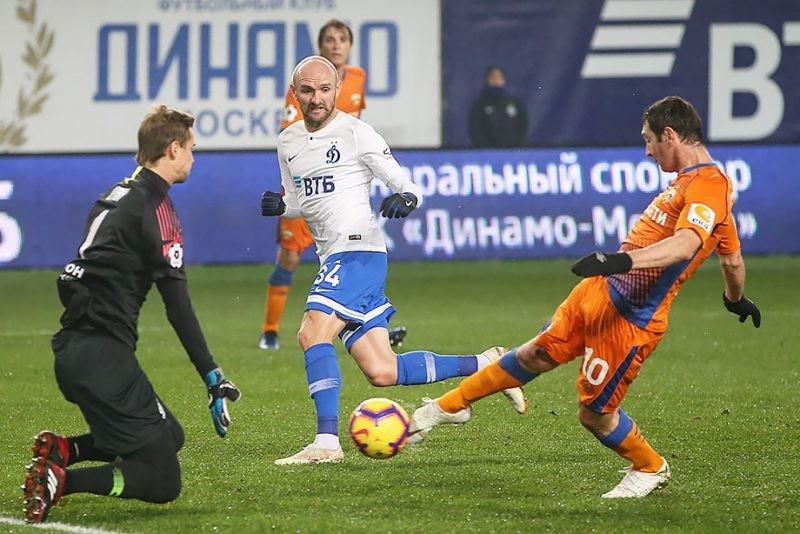 ЦСКА — Динамо: прямая онлайн трансляция матча 27 октября 2019 года