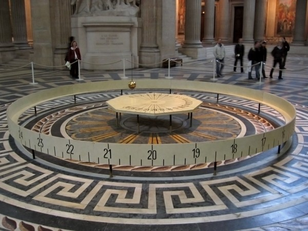 Маятник Фуко и загадки строительства Римского Пантеона