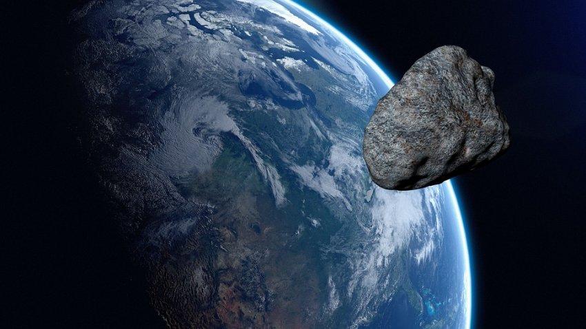 Земля проходит через облако из пяти крупных астероидов