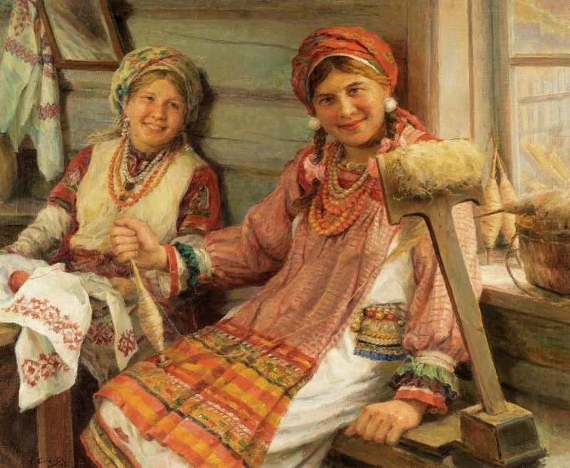Посиделки, беседы, вечёрки - правила крестьянского отдыха