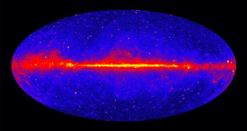 Ученые обнаружили край Млечного пути