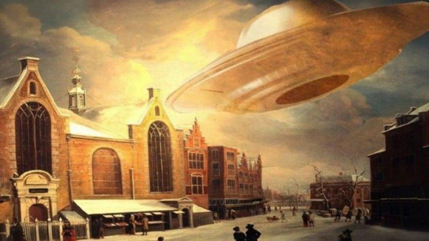 Небесное сражение над Нюрнбергом - НЛО или погодное явление?
