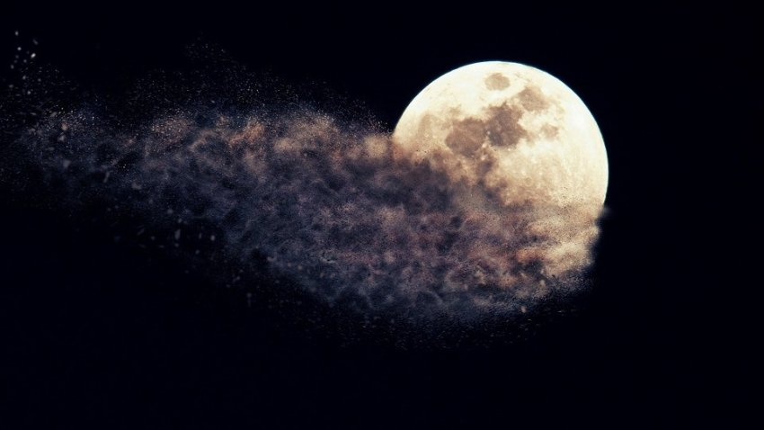 Ученым выяснили, почему в 1110 году на небе пропала Луна