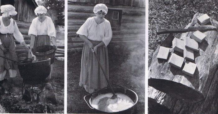 Грандионые стирки сродни подвигу - Как стирали в деревне