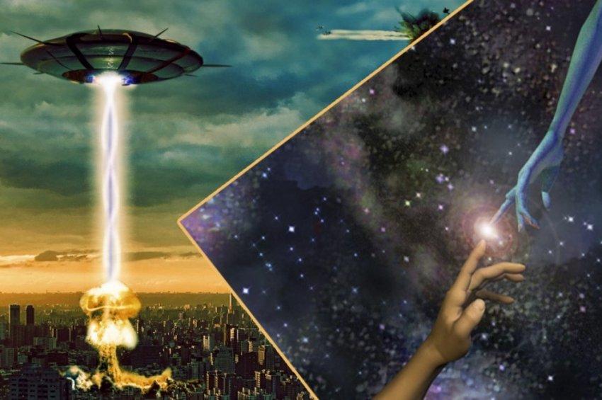 Общемировая самоизоляция - вступление в контакт с инопланетной цивилизацией?