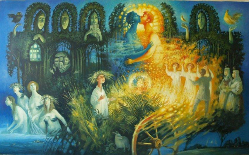 Славянские традиции в ночь на Купалу — летний солнцеворот