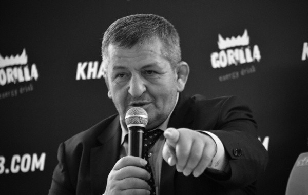 Умер отец Хабиба Нурмагомедова