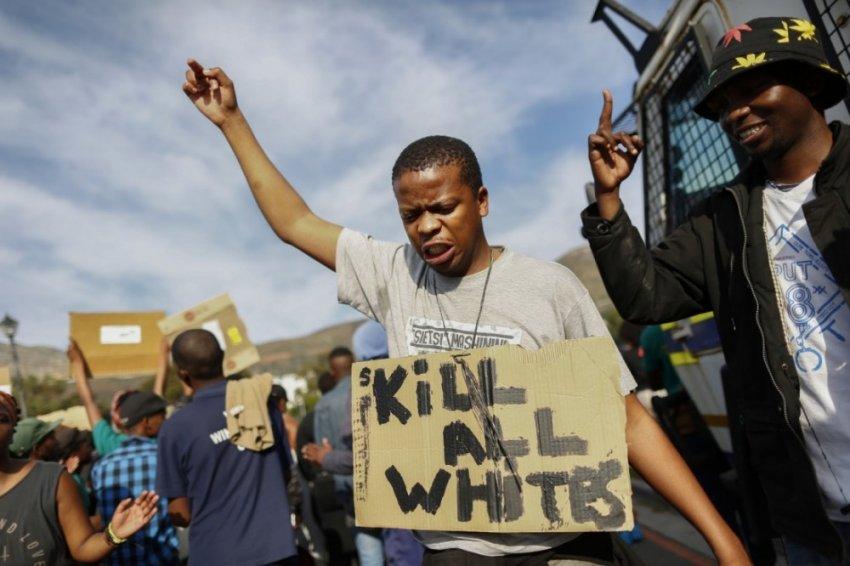 Какой цвет у расизма на примере США и ЮАР?