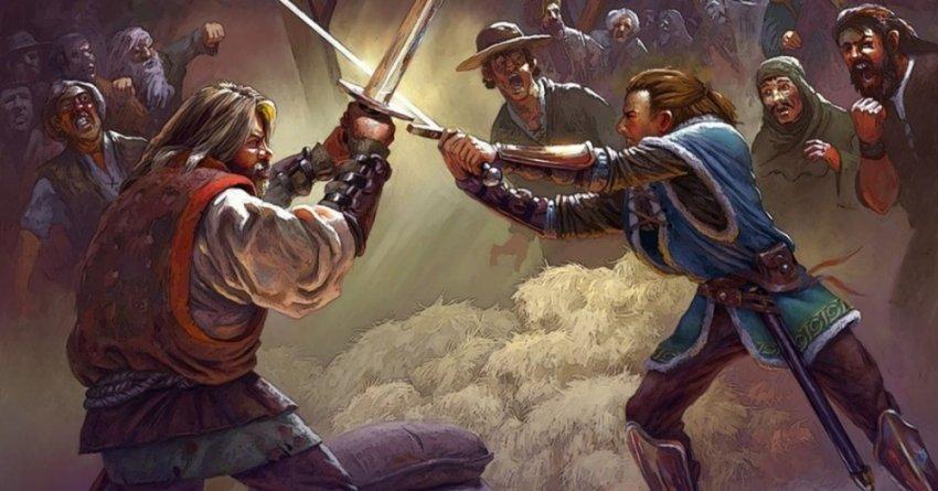 Как и от чего гибли воины в Средние века