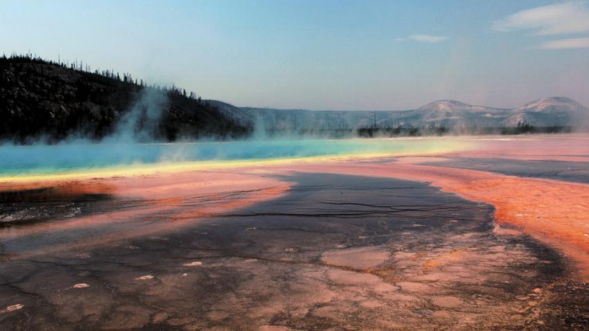 В кальдере Йеллоустоуна обнаружена новая термальная зона