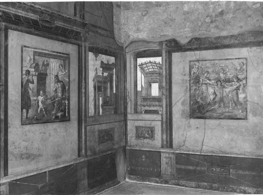 Как выглядели богатые дома в Помпеях