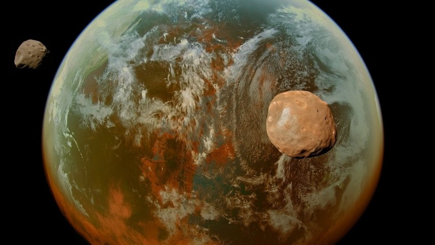 Учёные считают что на планете Марс могла быть жизнь