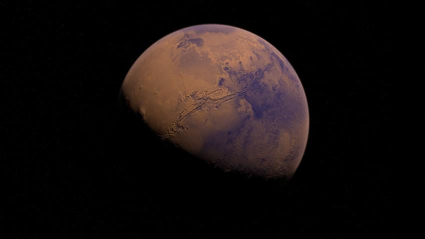 На Марсе во время солнечного затмения зафиксировали аномалию