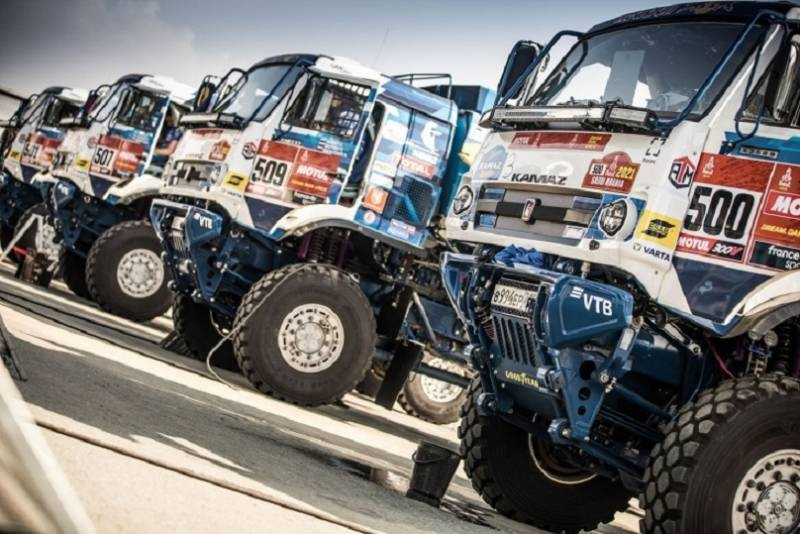 Российские участники вновь заняли лидирующие позиции на очередном этапе ралли Дакар 2021 года