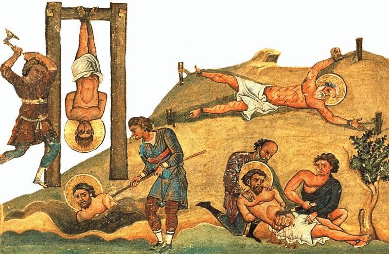 Верующие соблюдают запреты во время праздника «День памяти 20000 мучеников» 10 января