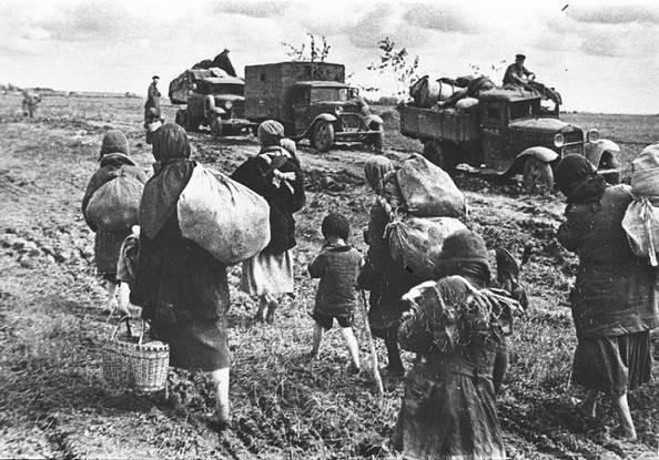 Как в СССР в 1947 году во время голода продавали зерно за границу