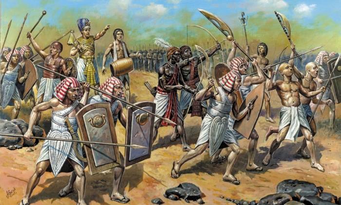 На чём основан религиозный миф об исходе евреев из Египта?