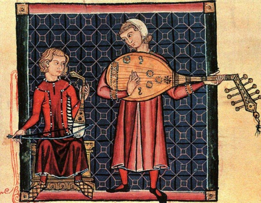 Музыка и развлечения средневекового человека