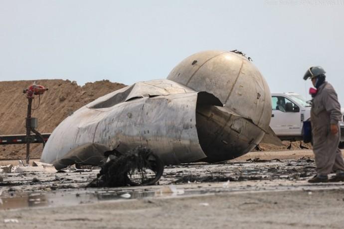 Прототип космического корабля Starship взорвался после успешного испытания