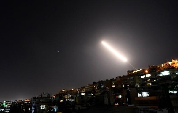 Израильские ВВС ударили ракетами по Сирии