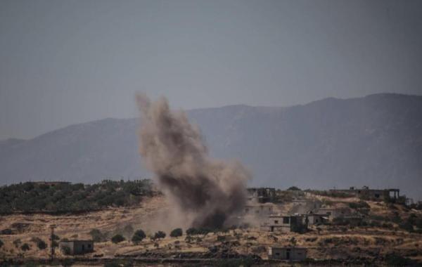 По району российских военных баз в Сирии нанесены десятки ударов