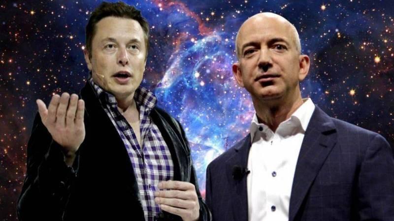Космическая гонка Джеффа Безоса и Илона Маска набирает обороты